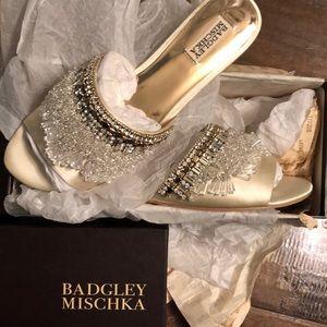 RARE Badgley Mischka Kassandra - Ivory